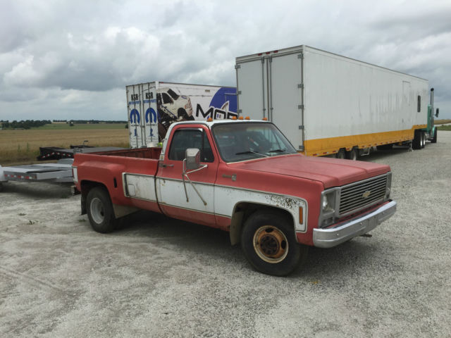 c30 chevy dually ratrod square body project truck for sale photos technical specifications. Black Bedroom Furniture Sets. Home Design Ideas