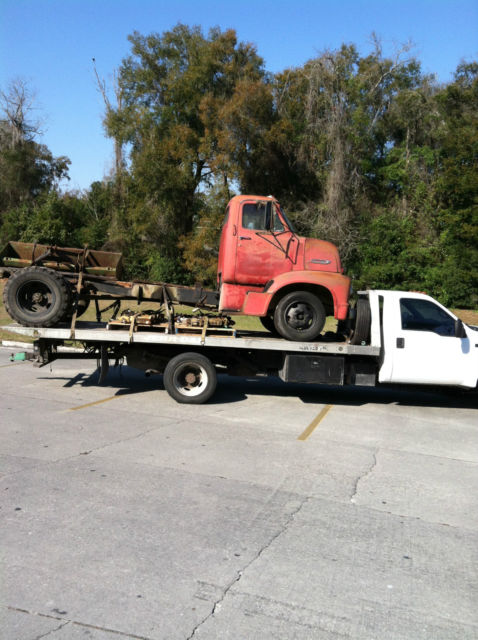 Van Horn Ford >> C600 53 Cab-Over COE UNRESTORED 1953 FORD F RAT ROD ...