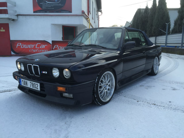 1991 BMW M3 Cabrio Convertible E30 - 28.900mls