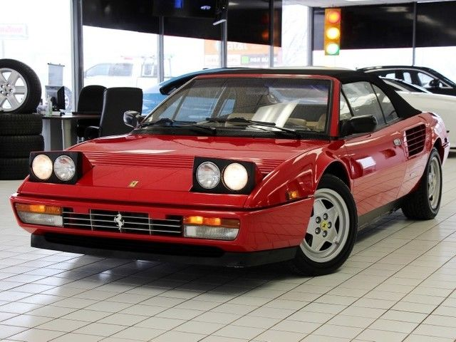 1988 Ferrari Mondial Cabriolet 5-Spd All the Accessories Serviced