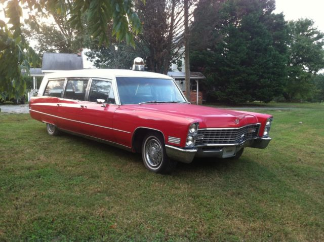 Cadillac 1967 Miller Meteor Hearse Ambulance Combination for sale