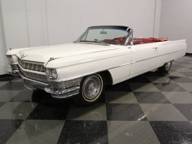 Cadillac 429ci V8 Cool Drop Top Caddy Very Clean Red Interior Ready For Fun
