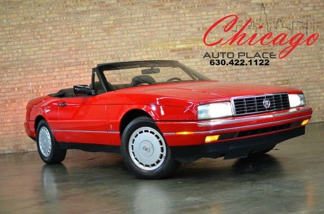 1991 Cadillac Allante CONVERTIBLE - US DEALER -  COLLECTOR CAR - SHOW CAR