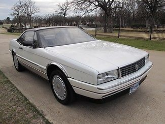 1990 Cadillac Allante Two Tops, Scratch & Dent Special