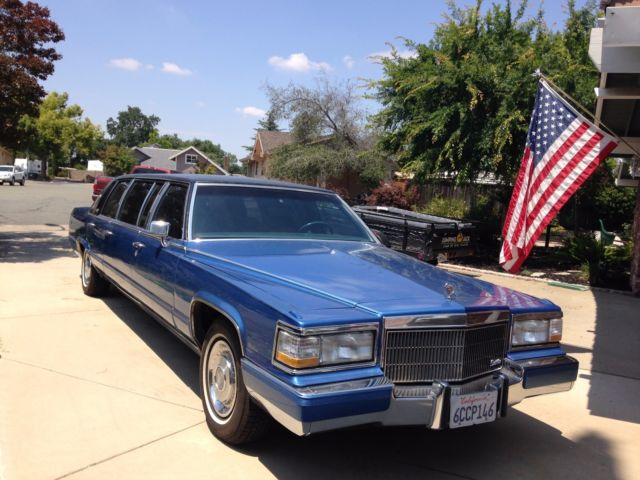 1992 Cadillac Brougham Superior custom limousine conversion