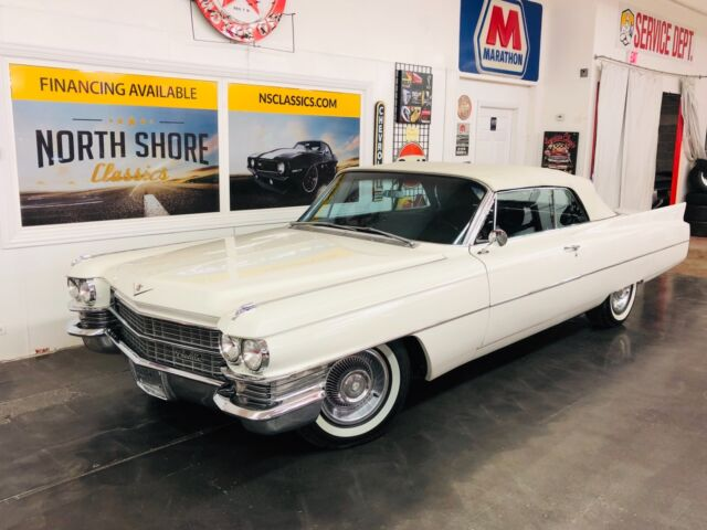 1963 Cadillac DeVille -FRAME OFF RESTORED 2017 CONVERTIBLE FUN-NUMBERS M