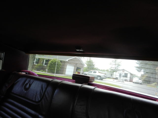 1989 White Cadillac Eldorado Coupe with Burgundy interior