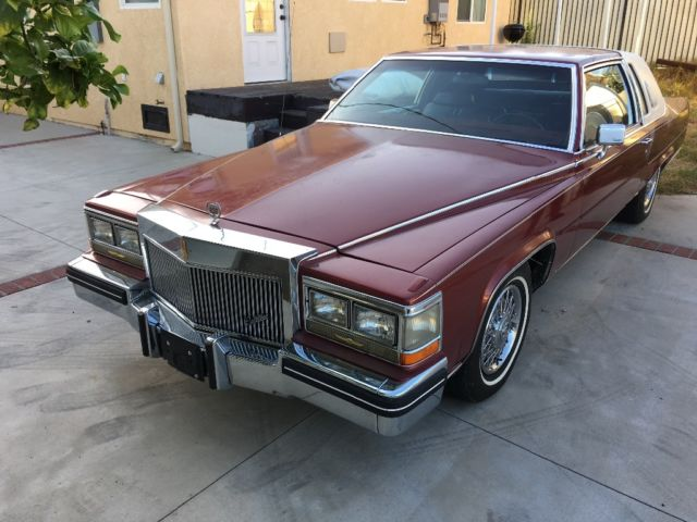 1985 Cadillac Brougham D'elegance coupe