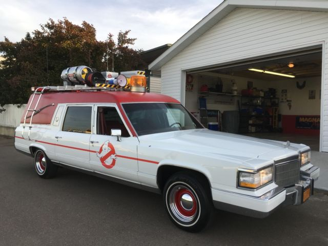 cadillac ghostbusters ecto 1 hearse 2016 for sale photos