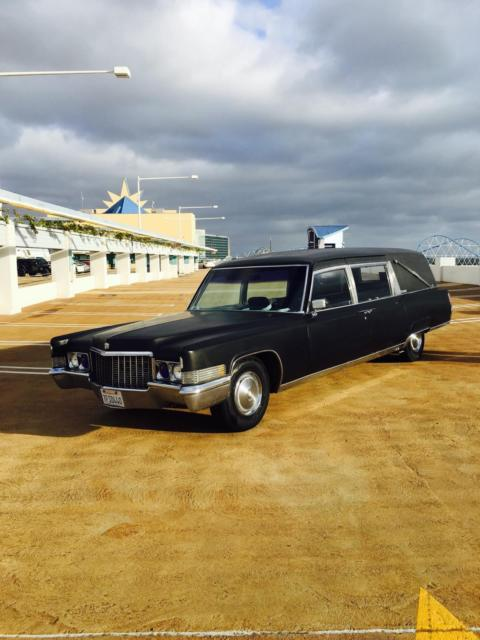 1970 Cadillac Fleetwood LANDAU 3 way traditional.