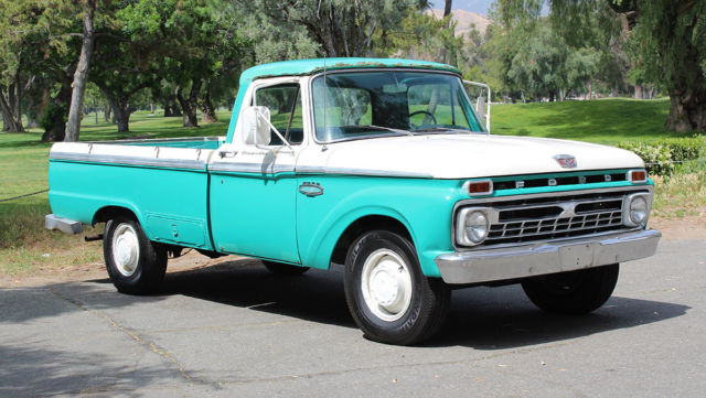 1965 Ford F-250 California Custom Cab/Camper Special