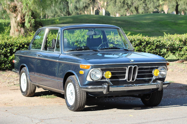 1973 BMW 2002 tii, California Car, 100% Rust Free