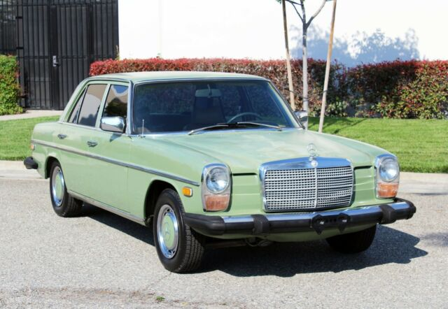 1974 Mercedes-Benz 200-Series One Owner, 76k Orig Miles, One Owner (833)225-4227