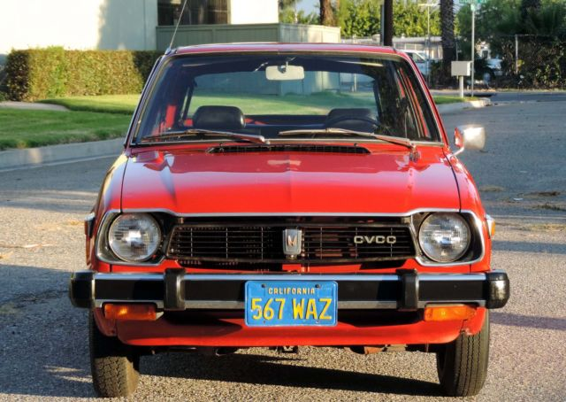 1978 Honda Civic California CVCC