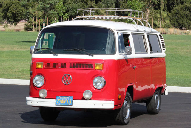1978 Volkswagen Bus/Vanagon California Original, Type 2, 100% Rust Free