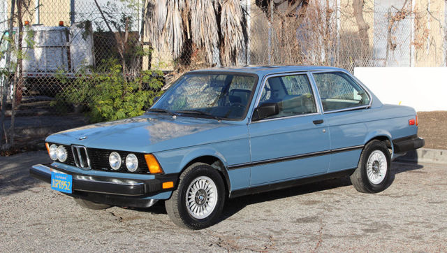 1981 BMW 3-Series 320i-E21, One Owner California Car