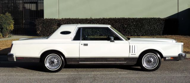 1982 Lincoln Mark Series Continental, California Car