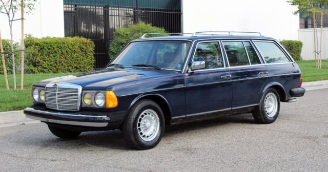 1983 Mercedes-Benz 300-Series California Original,Turbo Diesel,W-123, No Reserve