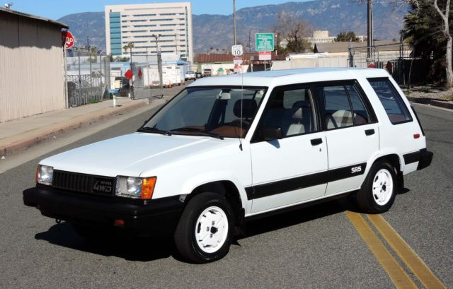 1983 Toyota Tercel SR5 4WD Wagon, California Car