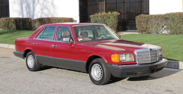 1985 Mercedes-Benz 300-Series SD Turbo Diesel, 100% Rust Free California Car