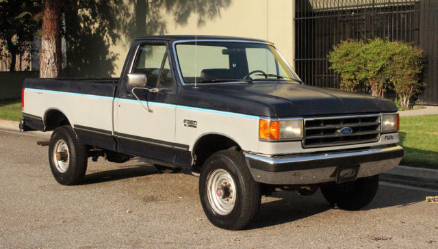 1989 Ford F-250 4x4, Lariat, Two Owner, 75k Orig Miles