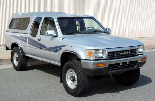1989 Toyota Other Tacoma, Pickup, 4x4, SR5, EFI, V6, California