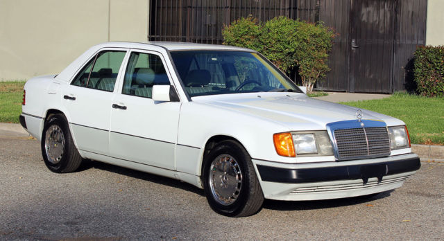 1991 Mercedes-Benz 300-Series 2.6, One Owner California Car, 64k Orig Miles