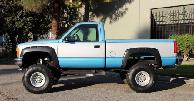 1993 GMC Sierra 1500 4x4 Shortbed, One Owner California Pickup