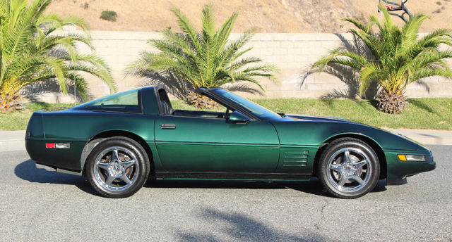 1994 Chevrolet Corvette California Car, ZR-1 Wheels, A+++