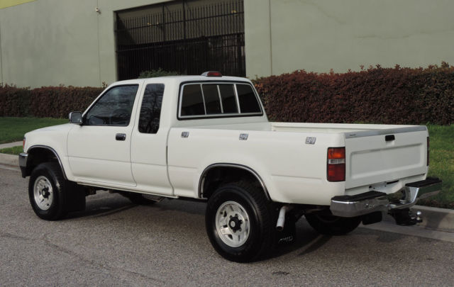 california original 1994 toyota sr5 pickup 4x4 xtra cab 6 cyl one owner a for sale photos. Black Bedroom Furniture Sets. Home Design Ideas