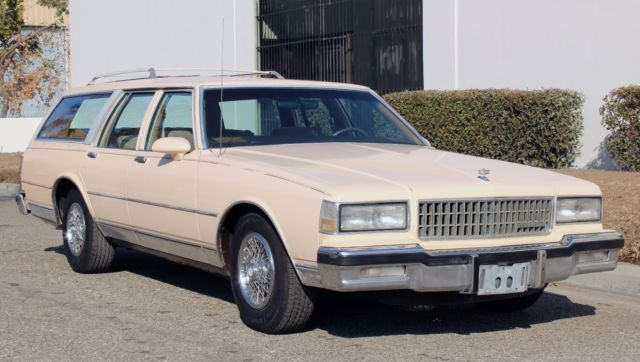 1988 Chevrolet Caprice One Owner, Runs A+