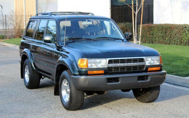 California Original, Toyota Land Cruiser FZJ80 4WD,100% Rust