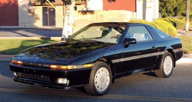 1986 Toyota Supra California Car