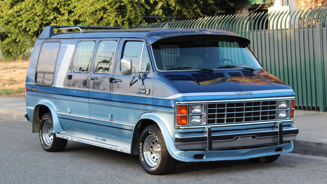 California OriginalDodge Ram Van 250 Shorty Conversion 90k Orig Miles0 Rust