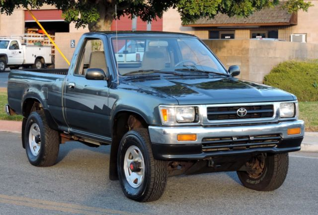 Vin Check Current Owner >> California Original,ONE OWNER 1992 Toyota Pickup DLX 4x4 Shortbed,100% Rust Free for sale ...