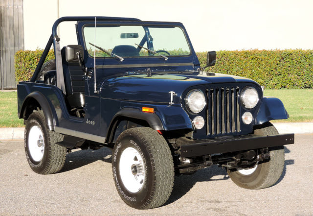 1983 Jeep CJ -5, One Owner, Restored