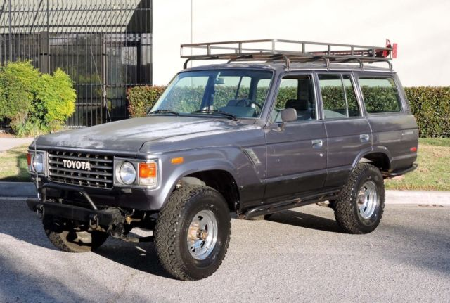 1987 Toyota Land Cruiser California FJ60