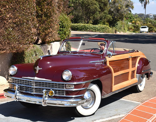 Californiaclix 1948 Chrysler Woody Convertible