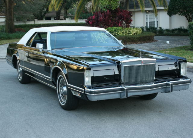 1978 Lincoln Mark Series MARK V - CARRIAGE ROOF - 31K MI