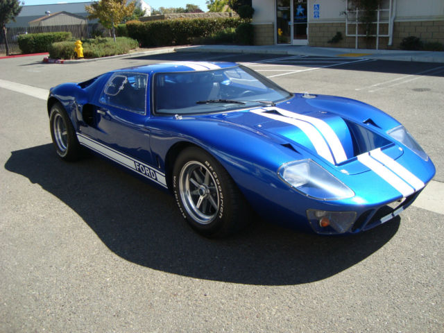 1966 Ford Ford GT GT-40 coupe