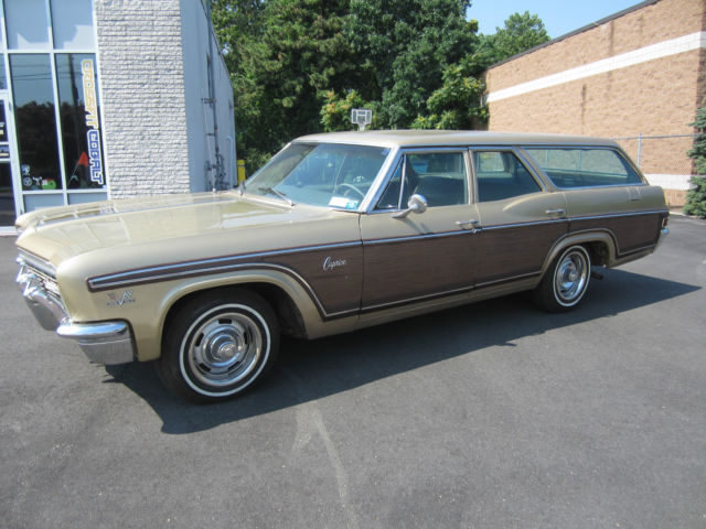 1966 Chevrolet Caprice WAGON MATCH # 396 incredibly loaded