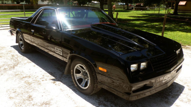 1986 Chevrolet El Camino SS Choo Choo Customs