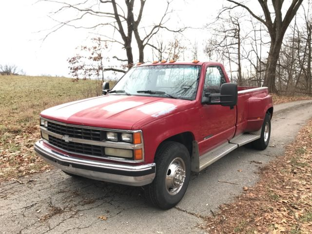 Image Of 1989 Chevy Dually Truck For Sale 1989 Chevrolet CK 3500