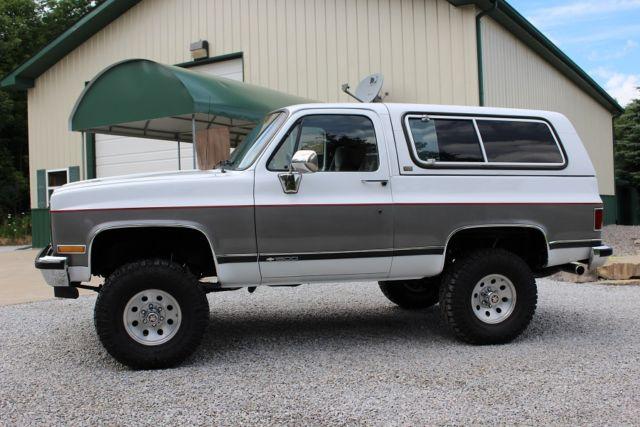 Chevrolet Blazer K5 for sale: photos, technical
