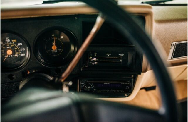 1987 Tan Chevrolet C-10 Standard Cab Pickup with Brown interior