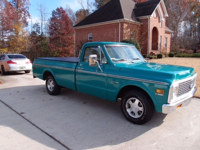 1972 Chevrolet C-10 long wheel base