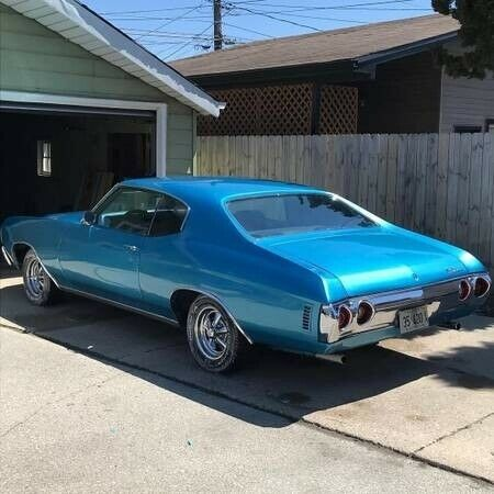 1966 Chevrolet Chevelle -BIG BLOCK 454 ENGINE-4 SPEED-FROM WEST VIRGINIA-