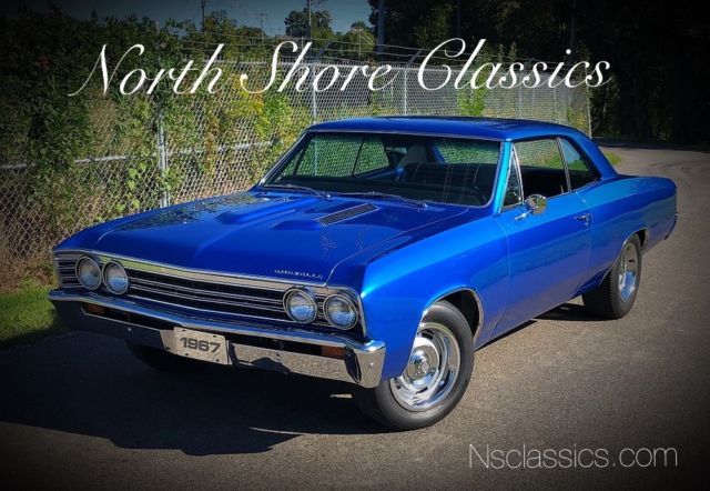 1967 Chevrolet Chevelle -NEW PAINT-FRESH ENGINE-RELIABLE MUSCLE CAR-SEE VI