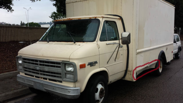 1990 Chevrolet G20 Van BOX VAN