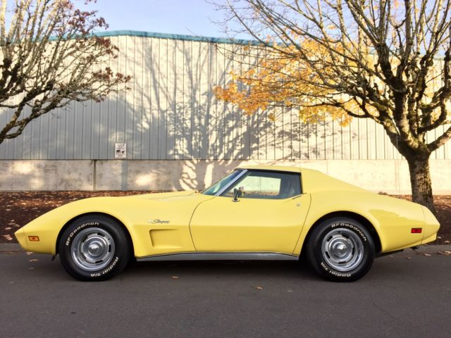 1974 Chevrolet Corvette 1 OWNER GARAGE KEPT TIME CAPSULE LIKE NEW 9K MILES